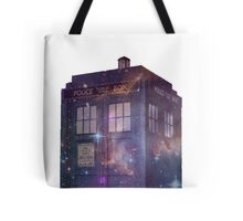 Galaxy Tardis Tote Bag