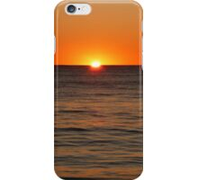 Shoalwater Sunset (2) iPhone Case/Skin