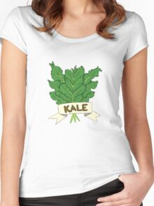 Kale Women's Fitted Scoop T-Shirt