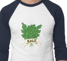 Kale Men's Baseball ¾ T-Shirt