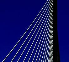 The Bridge (iPhone Case) by AuntDot