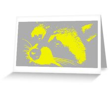 Richie in Grey and Yellow | Stanleigh and Friends Greeting Card