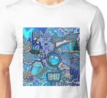 Blue Ridge Collage Unisex T-Shirt
