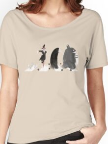 Ghibli Road Women's Relaxed Fit T-Shirt