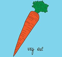veg out by CrystalCarey
