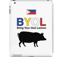 Bring your own lechon iPad Case/Skin