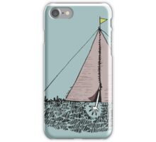 Just get out of the tent iPhone Case/Skin