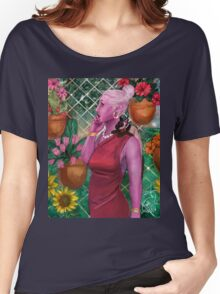 Flower Fence Women's Relaxed Fit T-Shirt