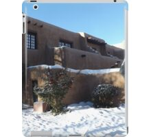 Sculpture, February, Adobe Architecture, Snow View, Santa Fe, New Mexico   iPad Case/Skin