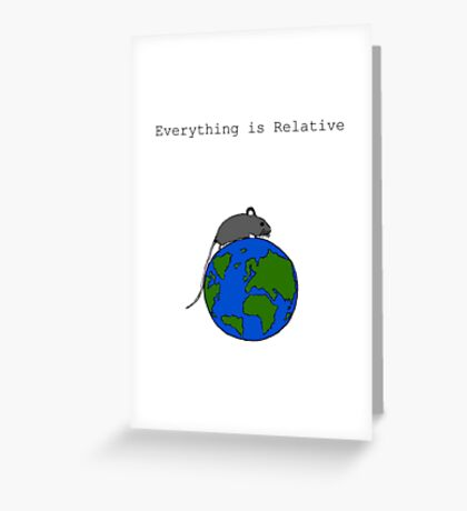 The Mouse Who Ruled The World Greeting Card