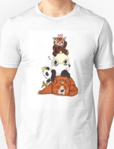 Bears And Pandas Sleeping Party T-Shirt