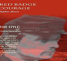 The Red Badge of Courage Stream of Consciousness by KayeDreamsART