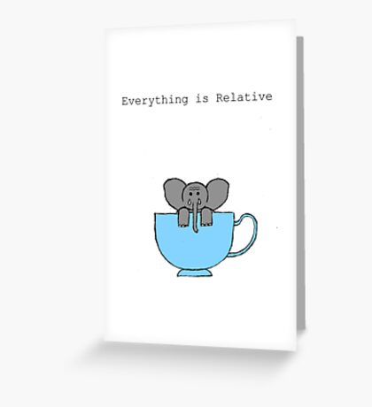 The Elephant's House is a Teacup Greeting Card