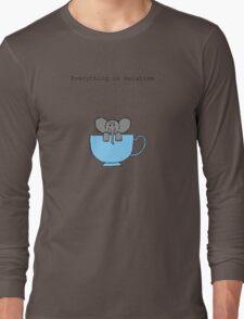 The Elephant's House is a Teacup Long Sleeve T-Shirt