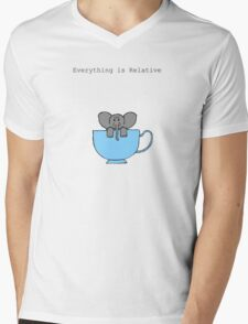 The Elephant's House is a Teacup Mens V-Neck T-Shirt