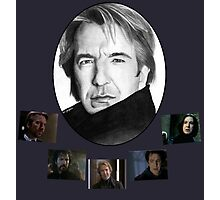 The Many Faces of Alan Rickman Photographic Print
