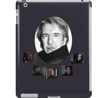 The Many Faces of Alan Rickman iPad Case/Skin