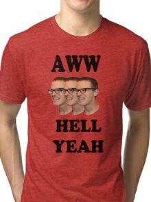 Aww Hell Yeah Tri-blend T-Shirt