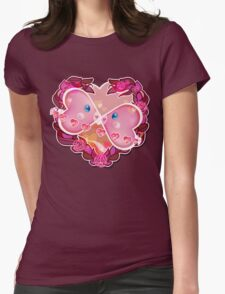PKM Lovely Luvdisc Sunset Womens Fitted T-Shirt