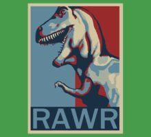 RAWR! American TREX Hope Spoof Kids Clothes