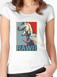 RAWR! American TREX Hope Spoof Women's Fitted Scoop T-Shirt