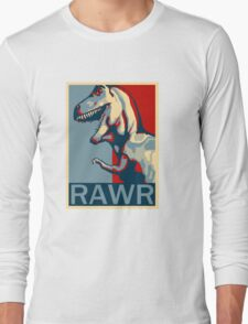 RAWR! American TREX Hope Spoof Long Sleeve T-Shirt
