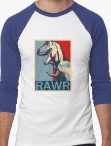 RAWR! American TREX Hope Spoof Men's Baseball ¾ T-Shirt