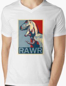 RAWR! American TREX Hope Spoof Mens V-Neck T-Shirt
