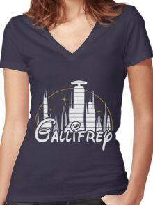 Gallifrey Women's Fitted V-Neck T-Shirt
