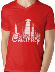 Gallifrey Mens V-Neck T-Shirt