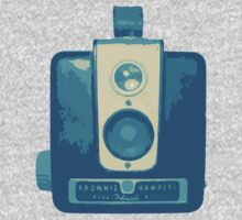 Classic Hawkeye Camera Design in Blue by strayfoto