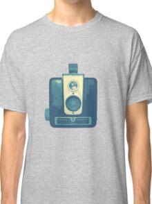 Classic Hawkeye Camera Design in Blue Classic T-Shirt