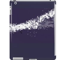 Abstract Navy Ink Reduction iPad Case/Skin