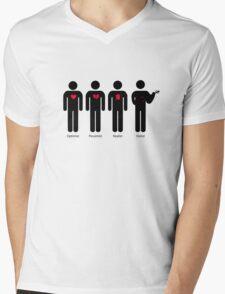 Violist Mens V-Neck T-Shirt