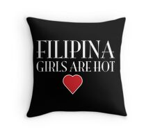 Philippines girls are hot  Throw Pillow