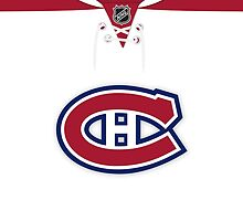 Montreal Canadiens Away Jersey by Russ Jericho