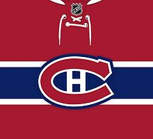 Montreal Canadiens Home Jersey by Russ Jericho