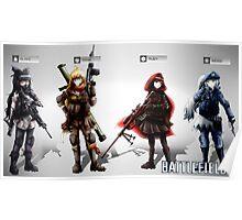 Team RWBY Battlefield 4 Poster