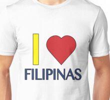 I love Filipinas Unisex T-Shirt