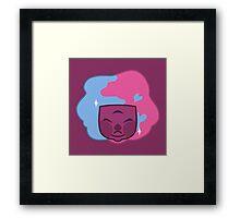 RAW GARNET Solo Headshot Framed Print