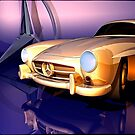 Mercedes-Benz 300 SL (white) by andreisky