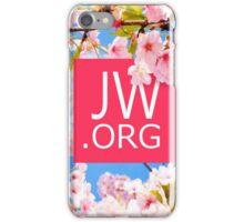 JW.ORG (Cherry Blossom) iPhone Case/Skin