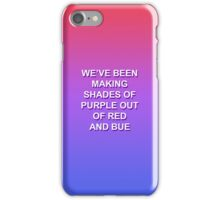 FOR HIM. / TROYE SIVAN iPhone Case/Skin