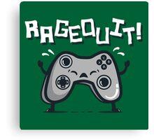 Ragequit Canvas Print