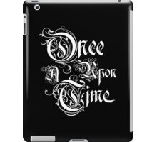 Once Upon A Time 2 iPad Case/Skin