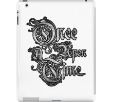 Once Upon A Time 3 iPad Case/Skin