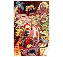 Pocket Mortys? Pokemorty Poster