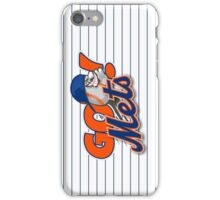 Go Mets  iPhone Case/Skin