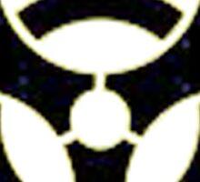 Bio Hazard symbol Sticker