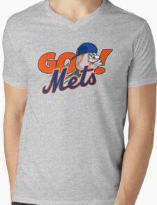 Go Mets  Mens V-Neck T-Shirt